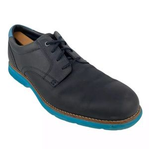 Rockport Leather Derby Shoes Total Motion Sz 10.5